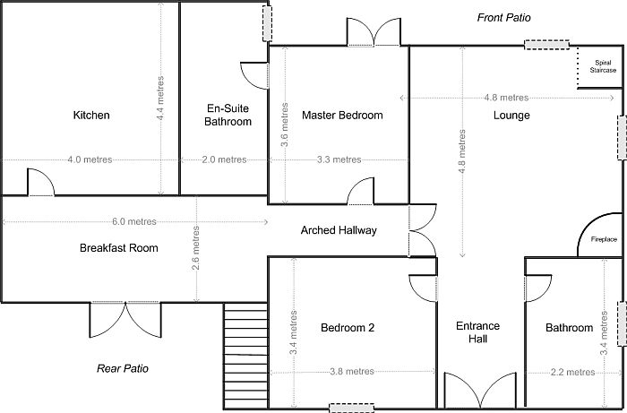 Tuscany Villa Holiday Gt Ground Floor Plan Gt Luxury