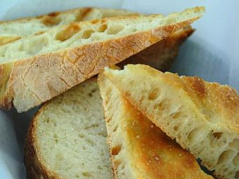 Tuscany Villa Holiday - In Lunigiana - Eating Out - Lunigiana Food-Local Bread